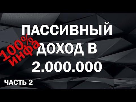 Пассивный доход в 2.000.000 !!  FAQ: Как правильно купить коммерческую недвижимость