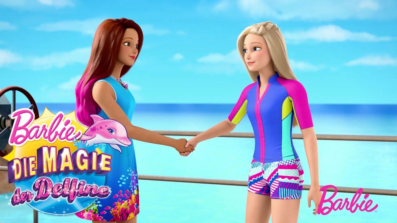Barbie Und Isla Treffen Eine Abmachung Barbie Magie Der Delfine