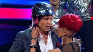 Russian show one to one - Sati Kazanova shows(copies) Rihanna