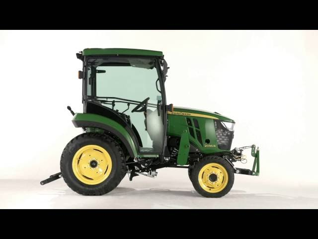 The new John Deere 2036R Compact Utility Tractor