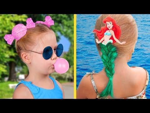 13 милых причёсок для девочек за пару минут