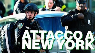L'attentato a New York visto dai social