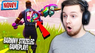 "🌈 - NOUVELLE PEAU ÉPIQUE ""TIREUR COLORÉ"" EN ACTION! Fortnite (Bataille Royale)"