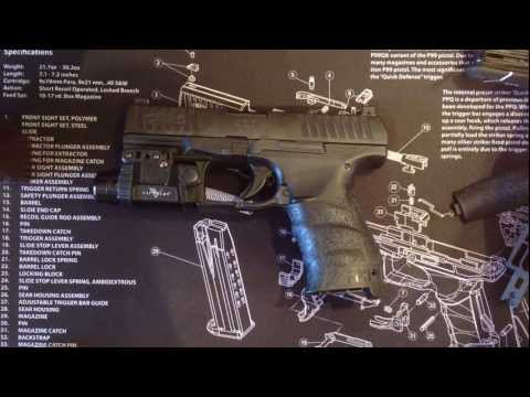 WALTHER PPQ BACKSTRAPS REMOVAL / REPLACEMENT