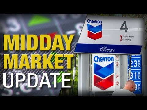 Midday Report: Stocks Rally as Crude Recaptures $38