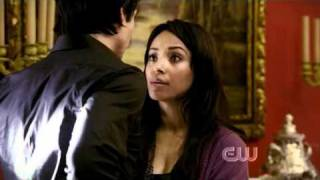 the vampire diaries bonnie damon scenes 2x01 2 2