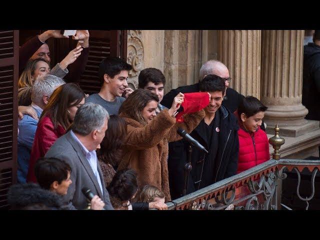 Amaia Romero, ganadora de OT, adelanta el chupinazo en Pamplona