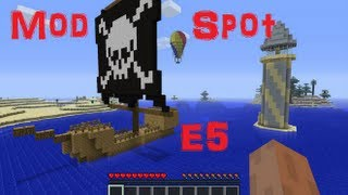 Minecraft Mod-Spot E5: Let it burn Baby!!