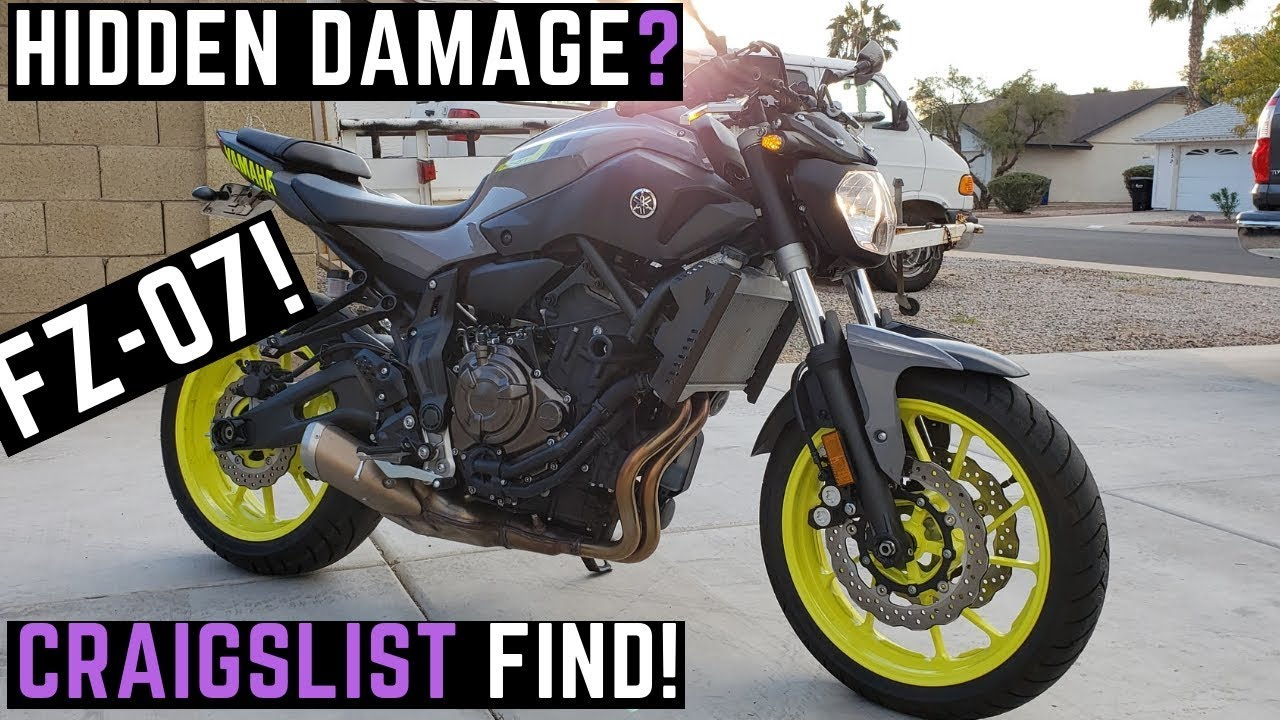 2016 Fz 07 >> Buying Used Yamaha Fz07 On Craigslist 0 60 Mph Test Ride Review First Impressions Fz 07 2016