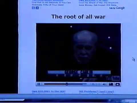 George Carlin on war and George Bush Jr