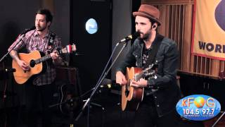 """Greg Laswell - """"How the Day Sounds"""" at KFOG Radio"""