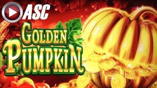*BIG WIN* GOLDEN PUMPKIN   KONAMI - Slot Machine Bonus (PART 1 of 2)