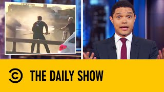 Hero Chef Fought London Bridge Attacker With A Narwhal Tusk | The Daily Show With Trevor Noah
