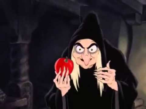 Snow White The Poison Apple Low Pitched - YouTube