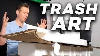 Making ART out of Garbage!