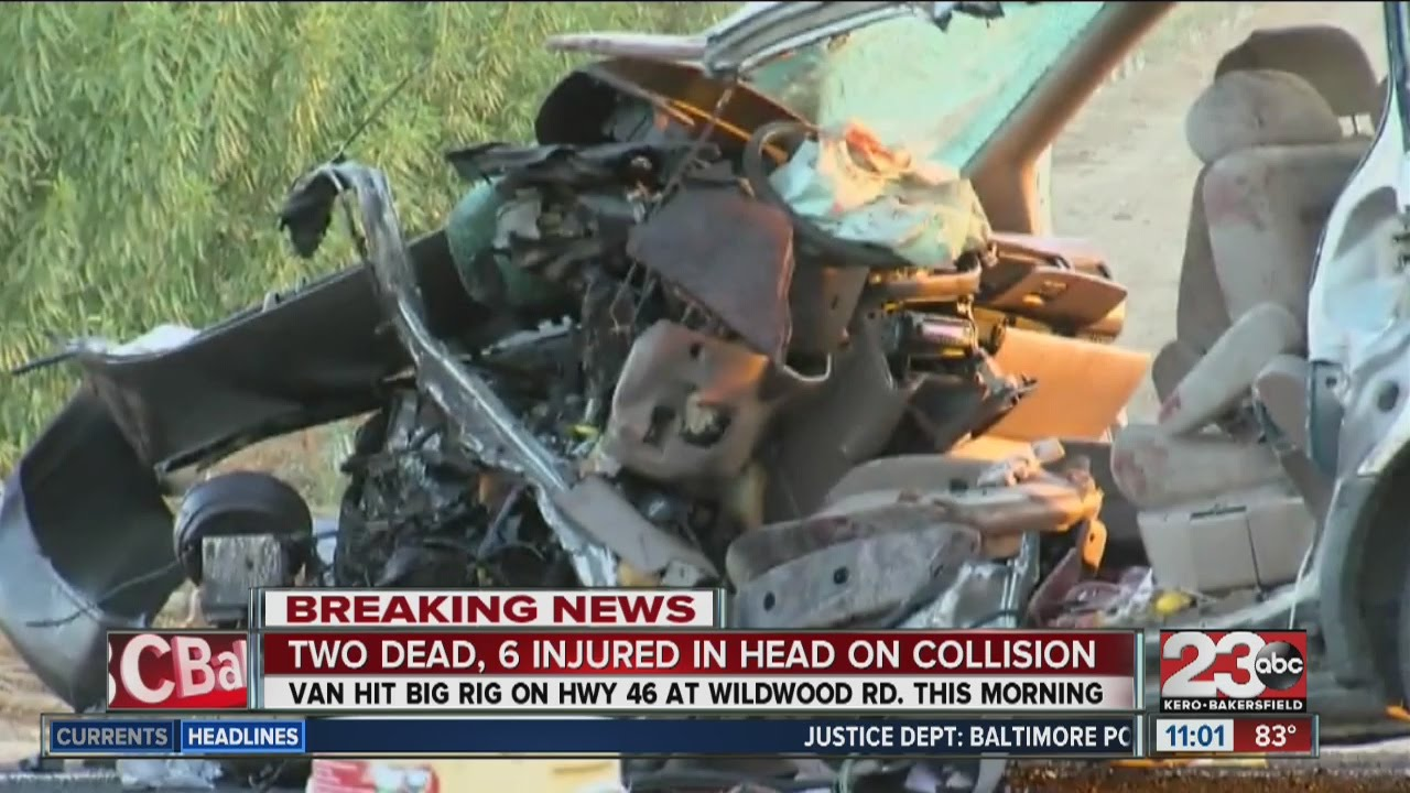 Deadly accident on Highway 46 claims the lives of 2, injures 4