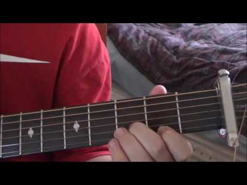 Tesla-Love Song Guitar Lesson - YouTube