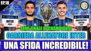 SEMI-FINALE DI CHAMPIONS LEAGUE!! SE PERDIAMO FINISCE LA CARRIERA!! FIFA 18 CARRIERA ALLENATORE #18