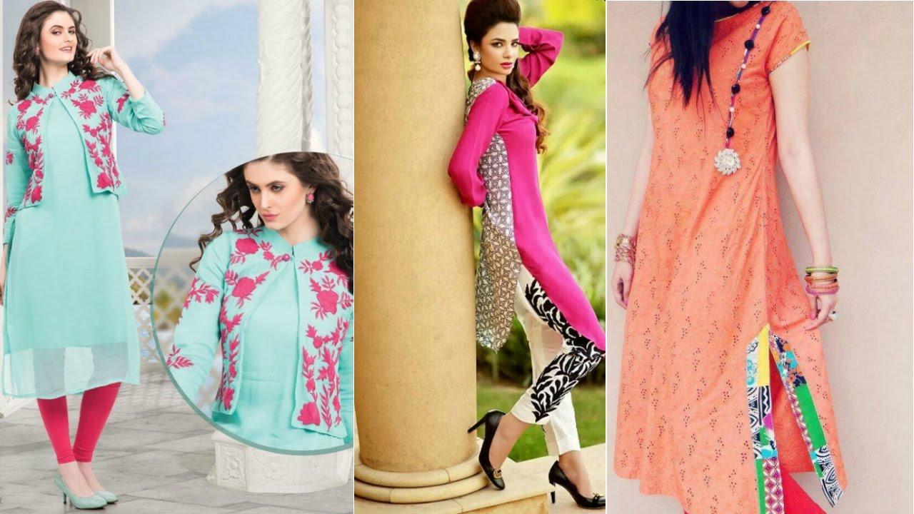 Latest Designer Kurti Designs For Summer Best Collection Kurti Design