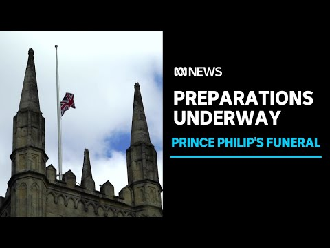 Windsor Castle makes final preparations for Prince Philip's funeral | ABC News