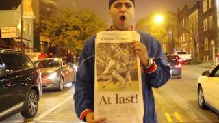 Chicago Cubs World Series Win 2016 Uncut Celebration