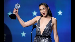 Gal Gadot accepts Critics' Choice Awards Honor with inspiring speech