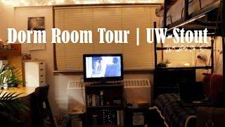 dorm room tour   uw stout