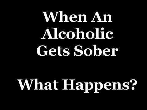 When An Alcoholic Gets Sober-What Changes Take Place