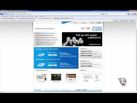 Homepage Tutorial WordPress Teil 1 – Grundlagen [German/Deutsch]