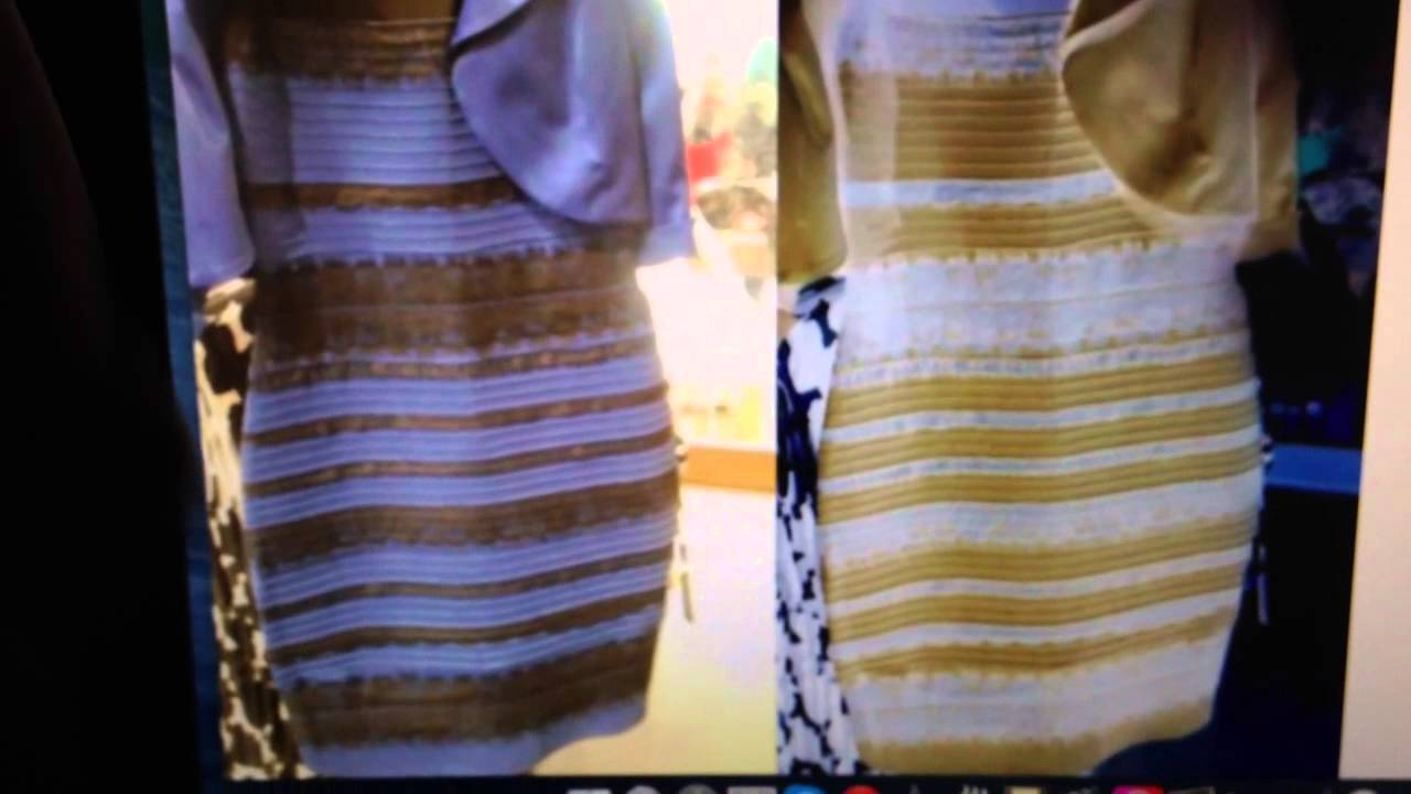 The dress is white - The Colour Of The Black And Blue Or White And Gold Dress Is Thedress