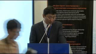 Болат Акчулаков - приветственная речь