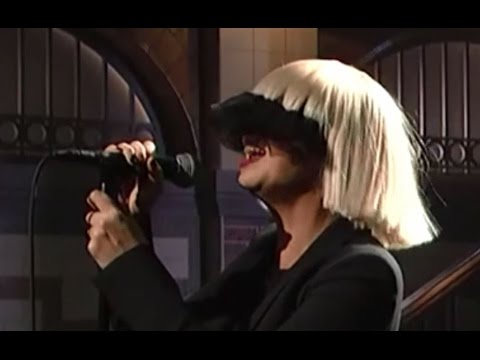 Sia - Chandelier live vocals (mic feed) [SNL] VIDEO