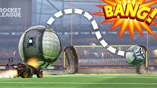 Wow, Psyonix actually added curved shots to Rocket League...