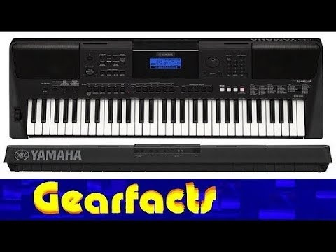 yamaha psr e453 keyboard synth demo and review youtube. Black Bedroom Furniture Sets. Home Design Ideas