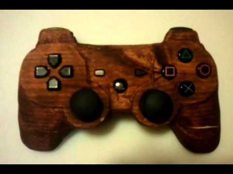 Real Wood Ps3 controller complete