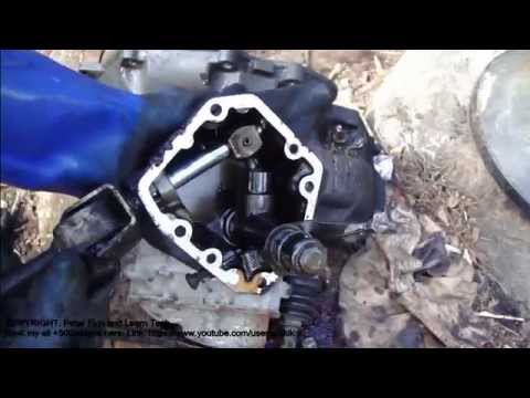 How to do Vauxhall/Opel Astra gearbox disassembly - YouTube