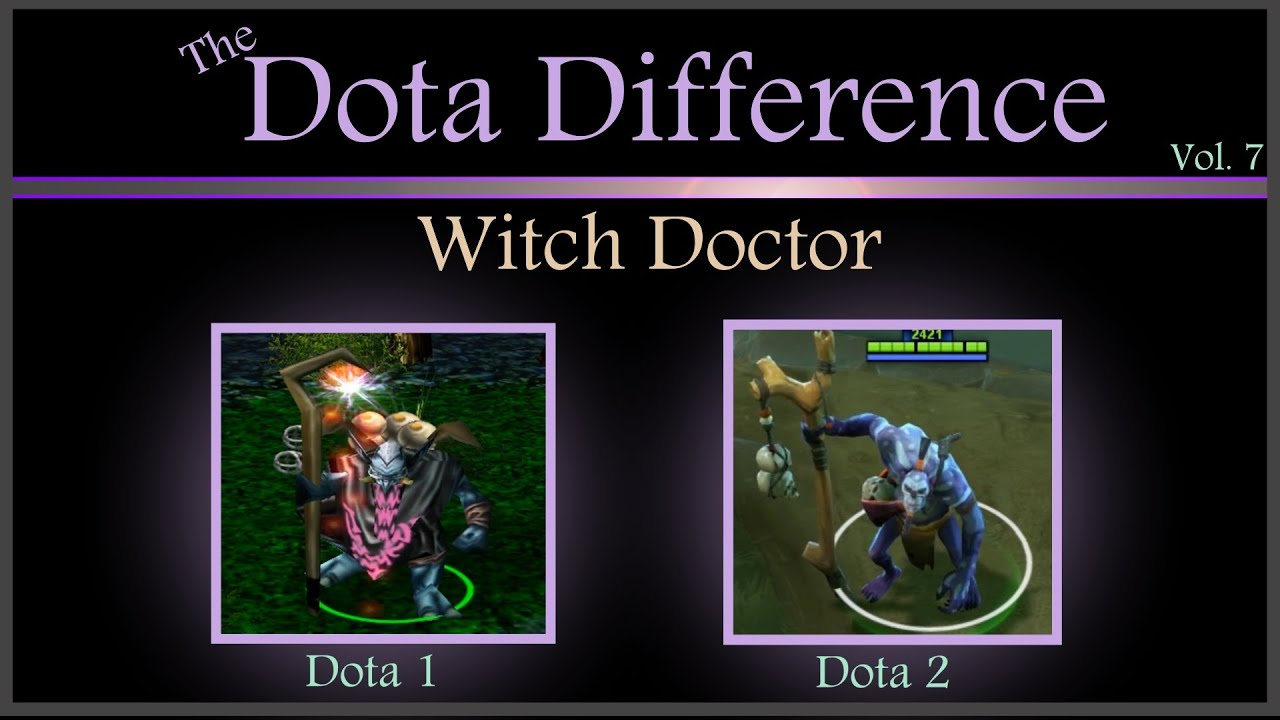 ... Dota 2 Mechanics) The Dota Difference Vol. 7: Witch Doctor - YouTube