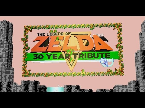 Legend of Zelda 3D Browser Game 30 Year Tribute - #CUPodcast