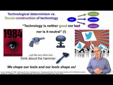 DT&SC 1-4: Technological Determinism vs. Social Constructivism