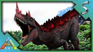 THIS CREATURE CAN TRANSFORM INTO A DEMON! ARMORED CERATOSAURUS HYBRID! - Ark: Jurassic Park [E41]