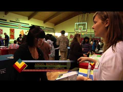 Miccosukee Indian School College Fair, OV-309-1