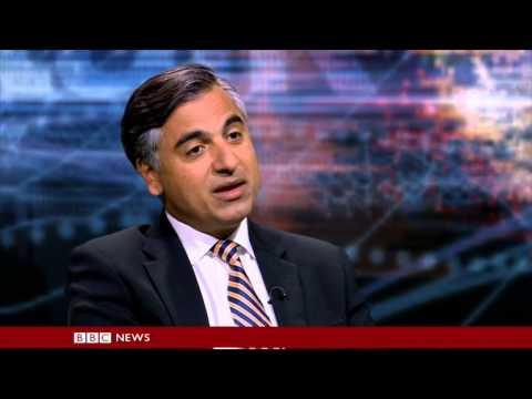 Payam Akhavan on BBC Hard Talk