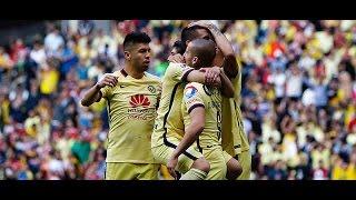 Todos los goles América 3-1 Veracruz Jornada 6 Apertura 2015