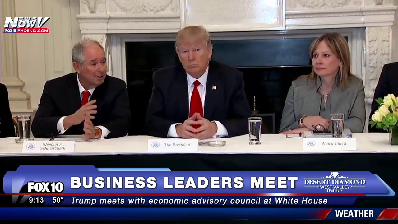 Image result for photos of white house business councils