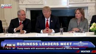 MAJOR: Trump Meets with Economic Advisory Council at White House (FNN) thumbnail
