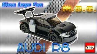 Audi R8 Lego MOC #57   - Лего самоделка Ауди Р8