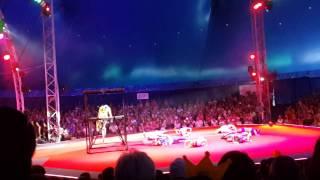 """Цирк """"Кобзов"""" 6 видео представления Одесса 16.08.2014"""