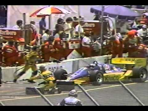 CART 1987 - MEADOWLANDS - ROUND 6