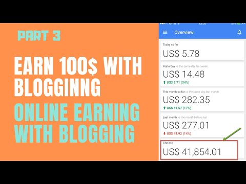 HOW TO EARN MONEY FROM BLOGGING l MAKE MONEY ONLINE FROM ADSENCE l PART 3 l HAMMAD ALI YT