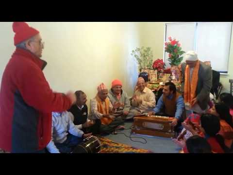 Nepali Beautiful Bhagwan Ram & Sita Namsang Kirtan in USA